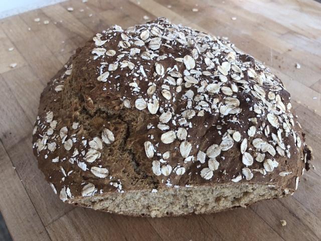 Treacle Soda Bread Vegan Eat